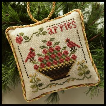 click here to view larger image of Sweet Apples - Sampler Tree Ornament 6 (chart)