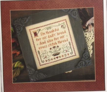 click here to view larger image of Giving Thanks (counted cross stitch kit)