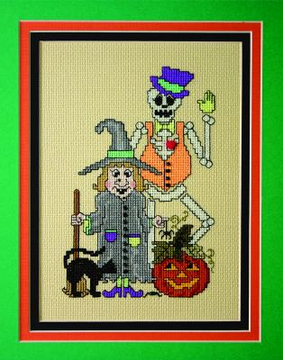 click here to view larger image of Halloween Gothic Revisited (chart with charms/buttons)