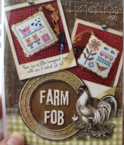 click here to view larger image of Farm Fob (Limited Quantity) (counted cross stitch kit)