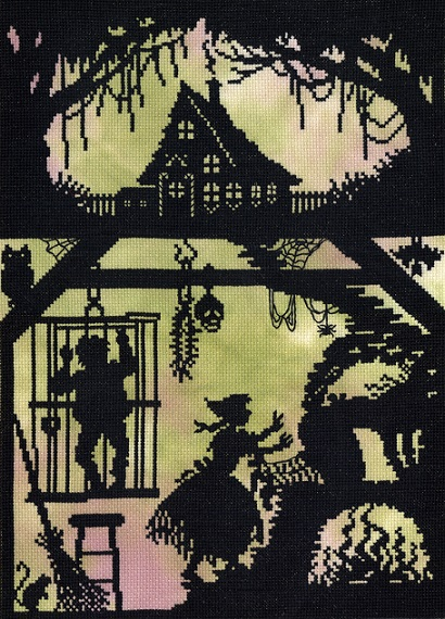 click here to view larger image of Hansel and Gretel (counted cross stitch kit)