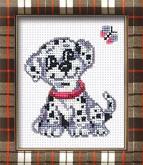 click here to view larger image of Dalmation Dog (counted cross stitch kit)