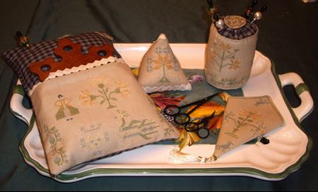 click here to view larger image of Bag Embroiderer (chart)
