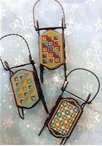 click here to view larger image of Touch of Turquoise Ornaments (chart)