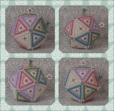 click here to view larger image of Perpetual Pentagon and Embellishments (Limited Edition) (chart with charms/buttons)