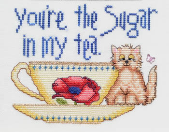 click here to view larger image of Youre The Sugar In My Tea (chart)