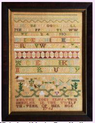 click here to view larger image of Martha Edes - 1745 Boston Band Sampler (chart)