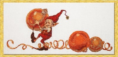 click here to view larger image of 1,2,3,..... Christmas (Kit) (counted cross stitch kit)