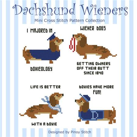 click here to view larger image of Dachshund Wiener Collection (chart)