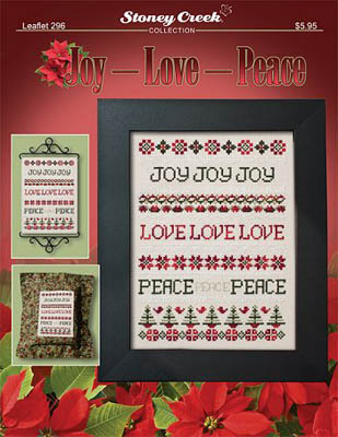 click here to view larger image of Joy Love Peace (chart)