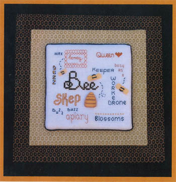 click here to view larger image of Bee Seasonal Easel (chart (special))