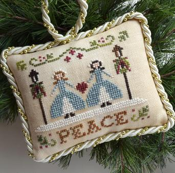 click here to view larger image of Peace - Sampler Tree Ornament 7 (chart (special))