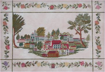click here to view larger image of Townscape 1850 (chart (special))