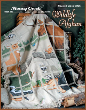click here to view larger image of Wildlife Afghan (book)