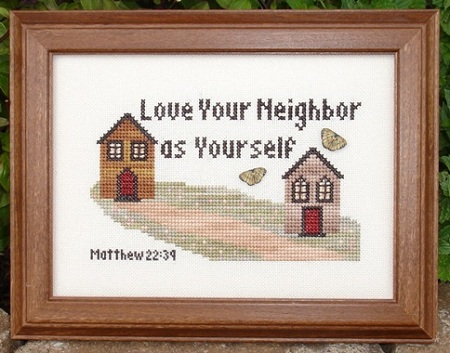 click here to view larger image of Love Your Neighbor (chart)
