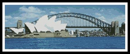click here to view larger image of Sydney Harbour in the Day (chart)