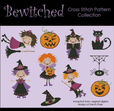 click here to view larger image of Bewitched Collection (chart)