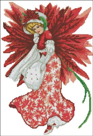 click here to view larger image of Christmas Fairy Victorian (chart)