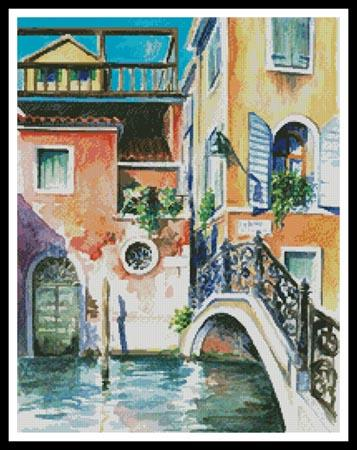 click here to view larger image of Venice Watercolour  (Danny Wilde) (chart)