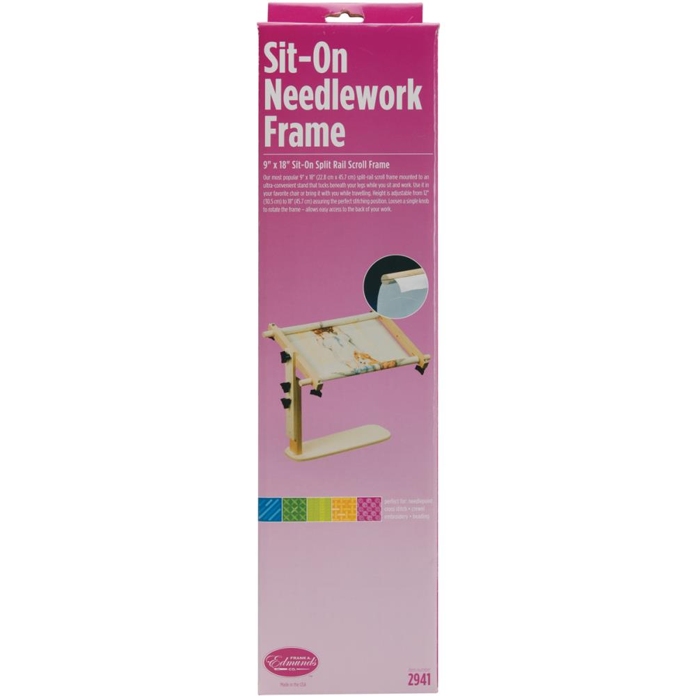 click here to view larger image of Sit on Needlework Frame (accessory)