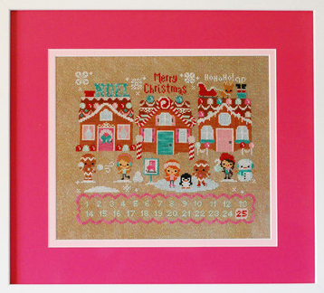 click here to view larger image of Christmas on Gingerbread Lane (chart)