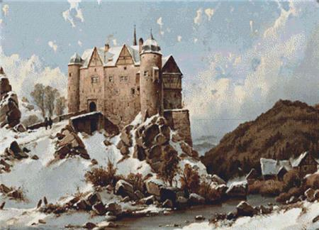 click here to view larger image of Castle In Winter (chart)