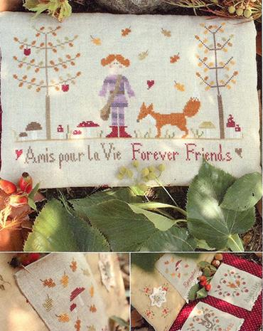 click here to view larger image of Forever Friends (chart)