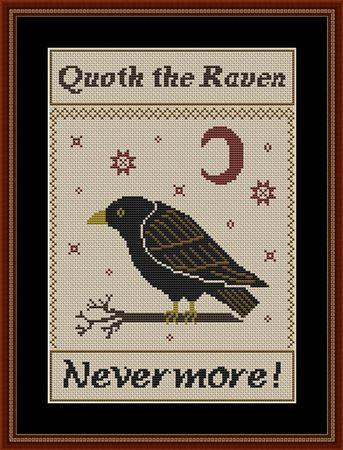 Quoth The Raven - Nevermore - click here for more details about chart