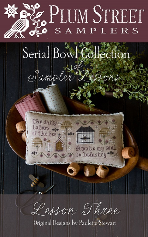 Serial Bowl Collection - Lesson Three - click here for more details about chart with charms/buttons