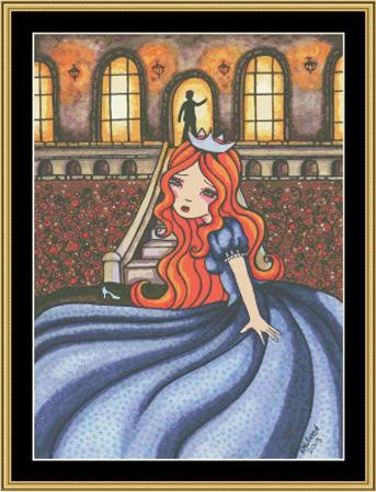 click here to view larger image of Fairy Tale Collection - Cinderella (chart)