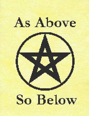 click here to view larger image of As Above So Below (chart)