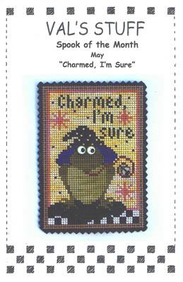 click here to view larger image of May Ornament - Charmed, I'm sure (chart)