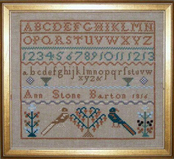 click here to view larger image of Ann Stone Sampler (chart)