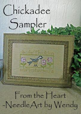 click here to view larger image of Chickadee Sampler (chart)