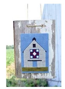 click here to view larger image of Heritage Barn Quilt (punchneedle) (Punchneedle)