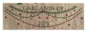 click here to view larger image of Garlands of Joy (chart)