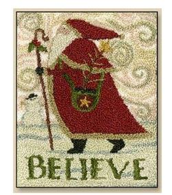 click here to view larger image of Believe (Punchneedle)