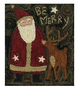 click here to view larger image of Be Merry (Punchneedle)