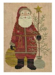 click here to view larger image of Country Santa (Cross Stitch) (chart)