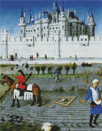 click here to view larger image of Les Tres Riches Heures du duc de Berry (chart)