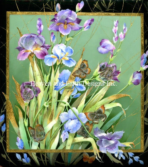 click here to view larger image of Iris Bouquet (chart)