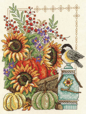 click here to view larger image of Fall Basket (chart)
