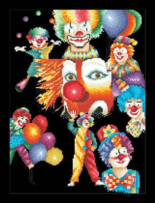 click here to view larger image of Happy Clowns (chart)
