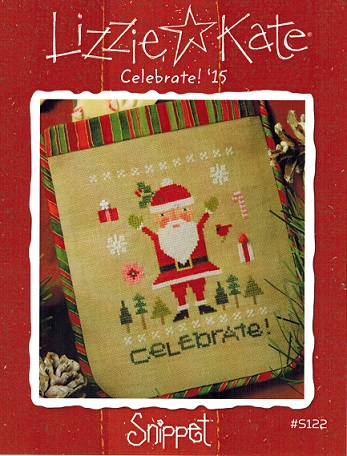 click here to view larger image of Celebrate! - Santa 15 Snippet (chart)