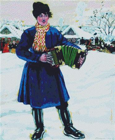 click here to view larger image of Accordionist, The (chart)