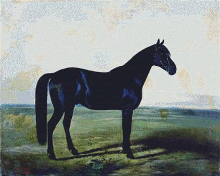 click here to view larger image of Black Horse, The (chart)