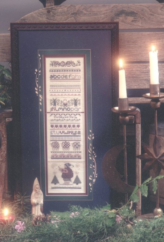 click here to view larger image of Yuletide Sampler (counted cross stitch kit)