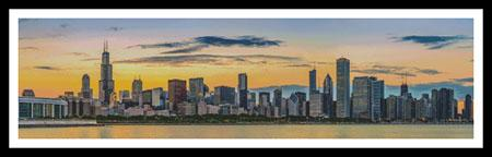 click here to view larger image of Chicago Skyline (chart)