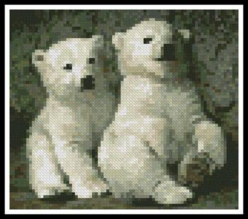 click here to view larger image of Mini Polar Bear Cubs 2 (chart)