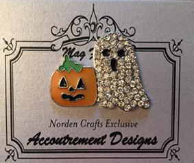 click here to view larger image of Ghosty and Pumpkin - Limited Edition (accessory)